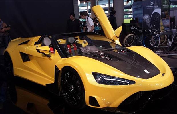 Tushek T600 supercar