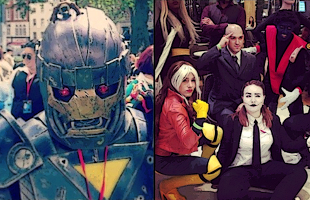 X-Men Days of Future Past Cosplay