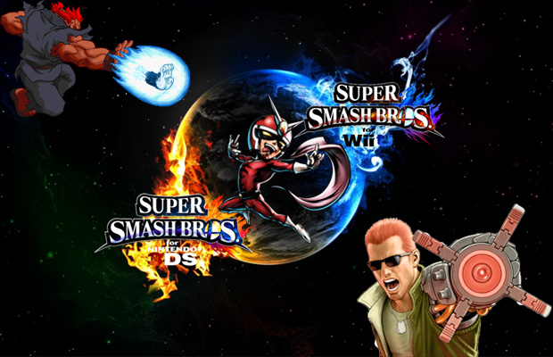 CAPCOM SUPER SMASH BROS