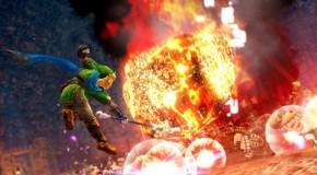 Link Wields Fire Rod in New Hyrule Warriors Gameplay Video