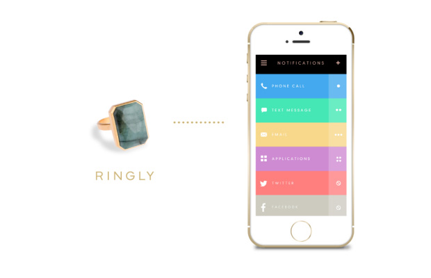 Ringly wearable