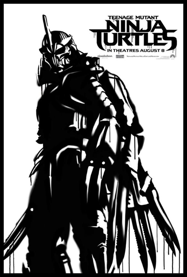 TMNT 2014 Poster Shredder