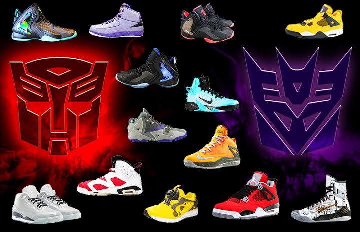 Transformers sneakers
