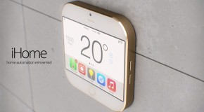 Cool Apple iHome Concept Offers Home Automation Services in Small Package