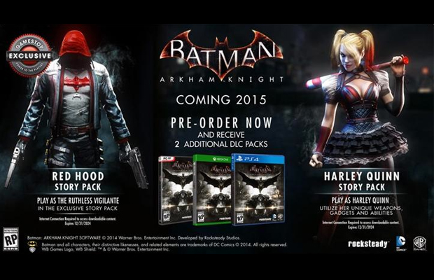 Batman Arkham Knight Red Hood DLC