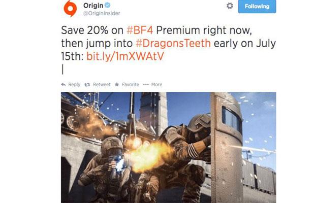 Battlefield 4 Dragons teeth DLC