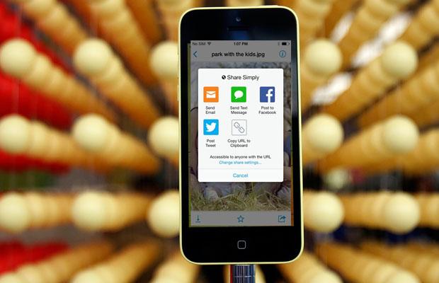 Copy storage app
