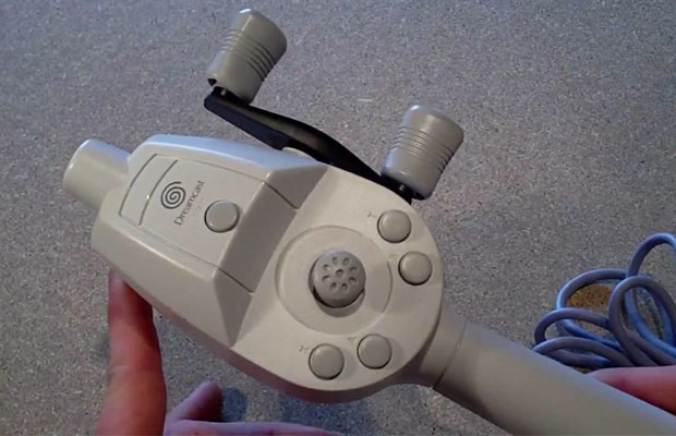 Sega Dreamcast motion controllers