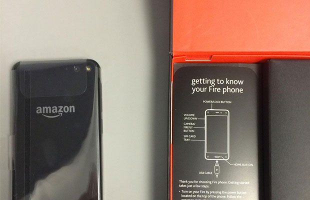 amazon Fire Phone packaging