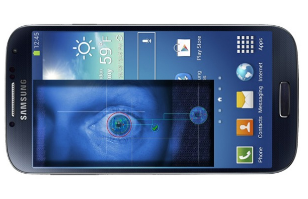 galaxy note 4 Retina Scanning