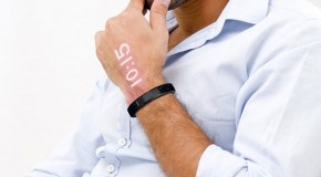 Ritot Projection Watch Tells Time On Your Arm