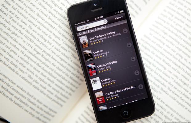 Amazon Kindle app
