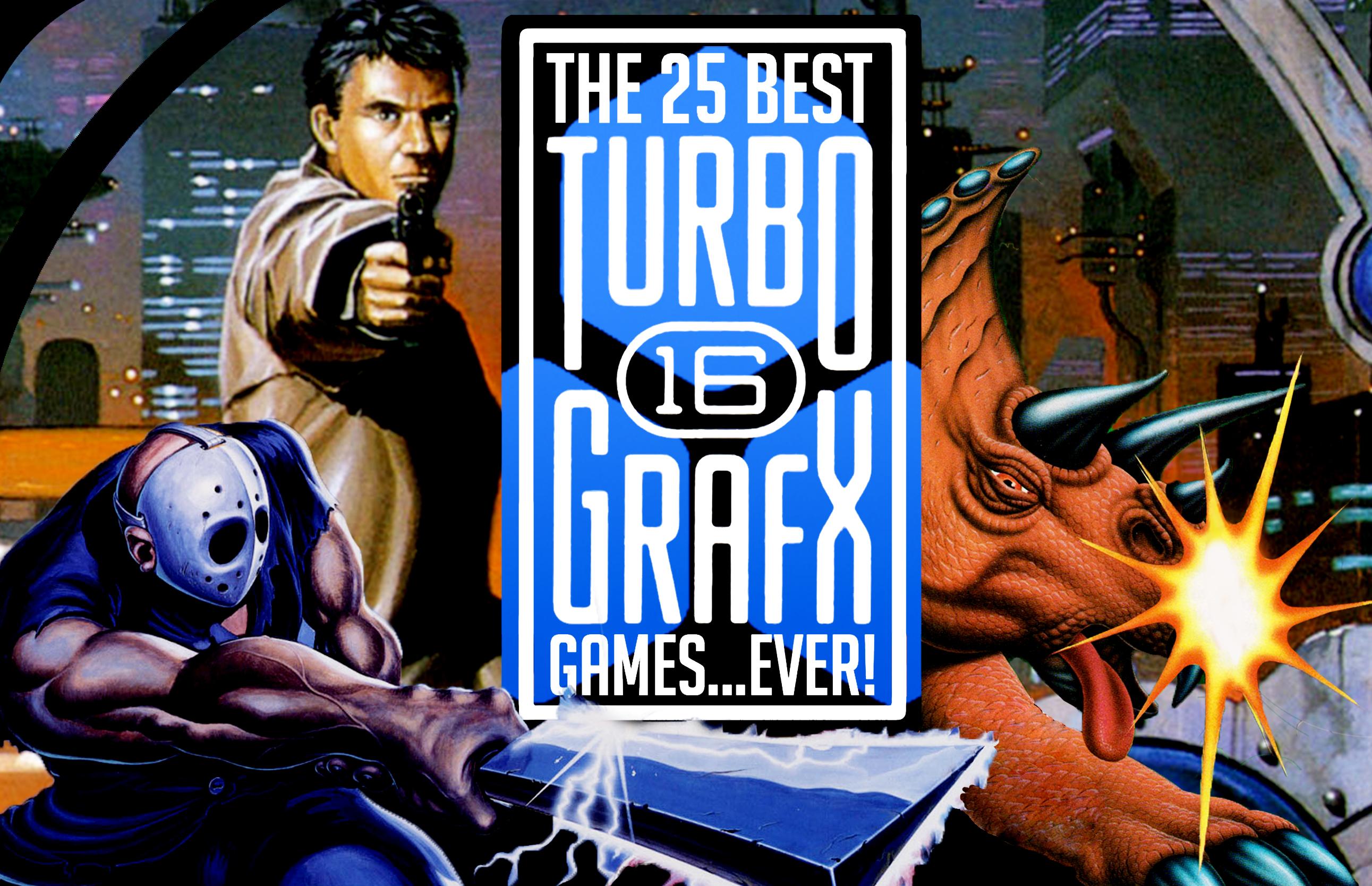 Best Turbgrapfx 16 games