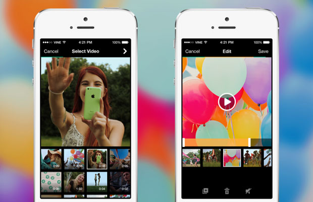 Vine camera video import