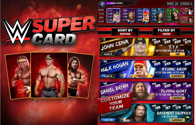 WWE Supercard ios