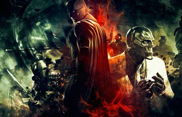 Deathstroke black mask