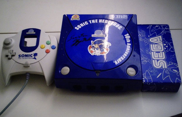 Dreamcast Sonic 10th Anniversary