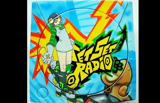 Dreamcast Top-Airbrush Editions (Jet Set Radio)