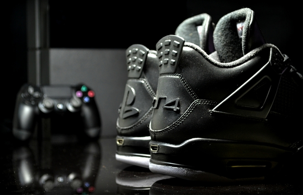 JRDN 4 X PS4 Sneaker Bundle