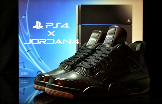 Sony Links With Jordan Brand For JRDN 4 X PS4 Sneaker Bundle