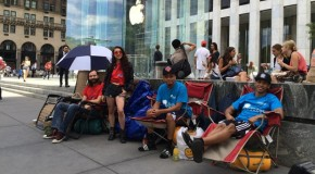 Eager Apple Fanboys Already Camping Out For iPhone 6