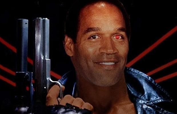 OJ Simpson The Terminator