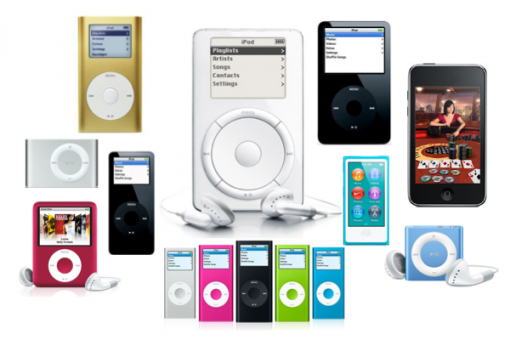 The Evolution of the iPod