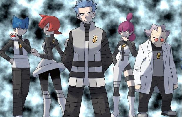Team Galactic Pokemon
