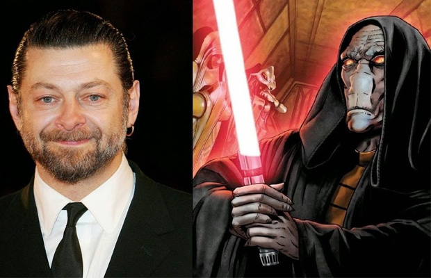 Andy Serkis star wars