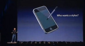Apple Files Patent For Stylus?