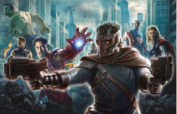 Avengers Guardians of the galaxy