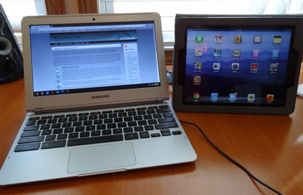 Chromebook ipad