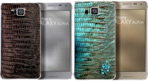 Leather Samsung Galaxy Alpha Hints at Galaxy S6 Customization