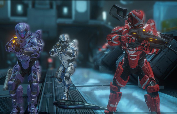 Master Chief Collection Halo 4 Spartan Ops mode