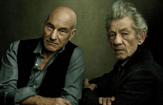 Apocalypse Patrick Stewart and Ian McKellan