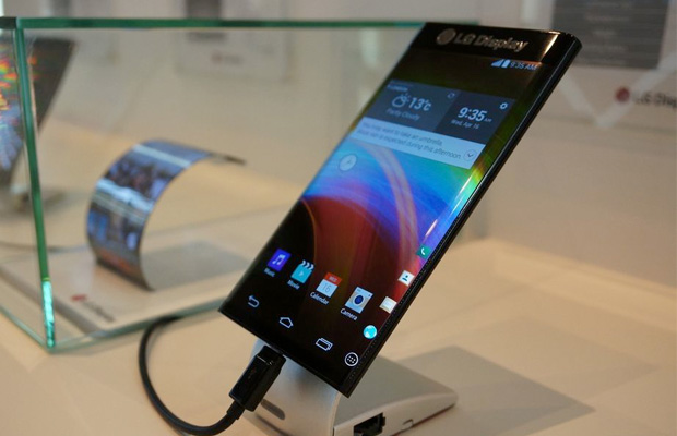 LG Dual-Curved Smartphone