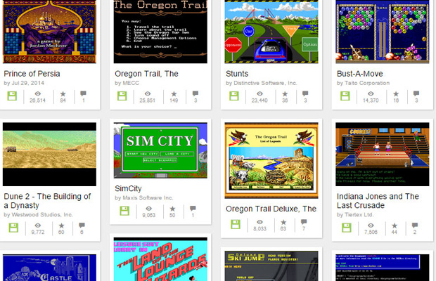 Internet Archive Lets You Play 2,400 MS-DOS Games Online