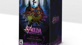 Legend of Zelda: Majora's Mask 3D Collector's Edition Includes Skull Kid Figurine