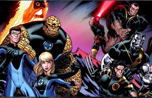 X-Men Fantastic Four Crossover