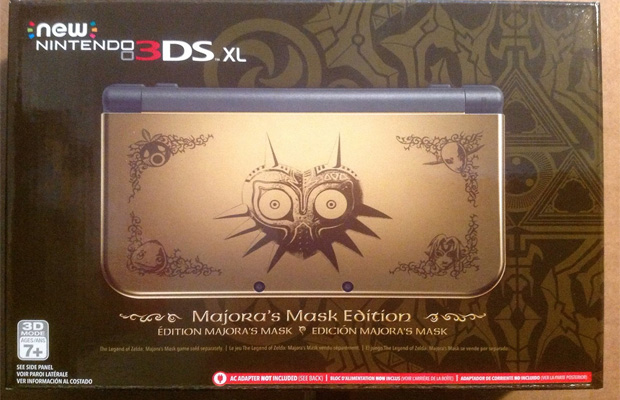 Majoras Mask 3DS XL Limited Edition