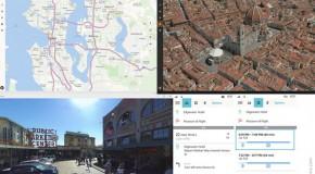 Microsoft Demos Maps for Windows 10 Phones