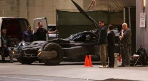 Batmobile Spotted on 'Suicide Squad' Set
