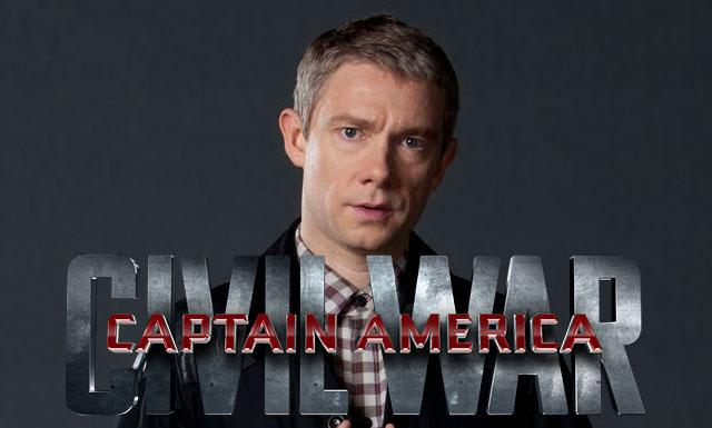 Captain America Martin Freeman