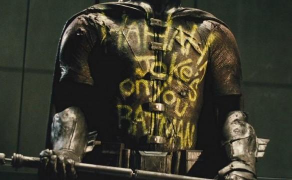 Robin Batman v Superman dawn of justice