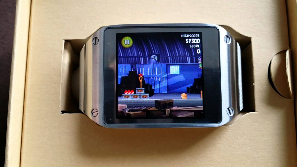 Galaxy Gear A Gaming