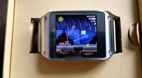 Samsung Galaxy Gear A Bezel Ring Gives Gaming Options