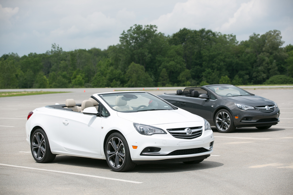 The All New 2016 Buick Cascada (Photo by John F. Martin for Buick)