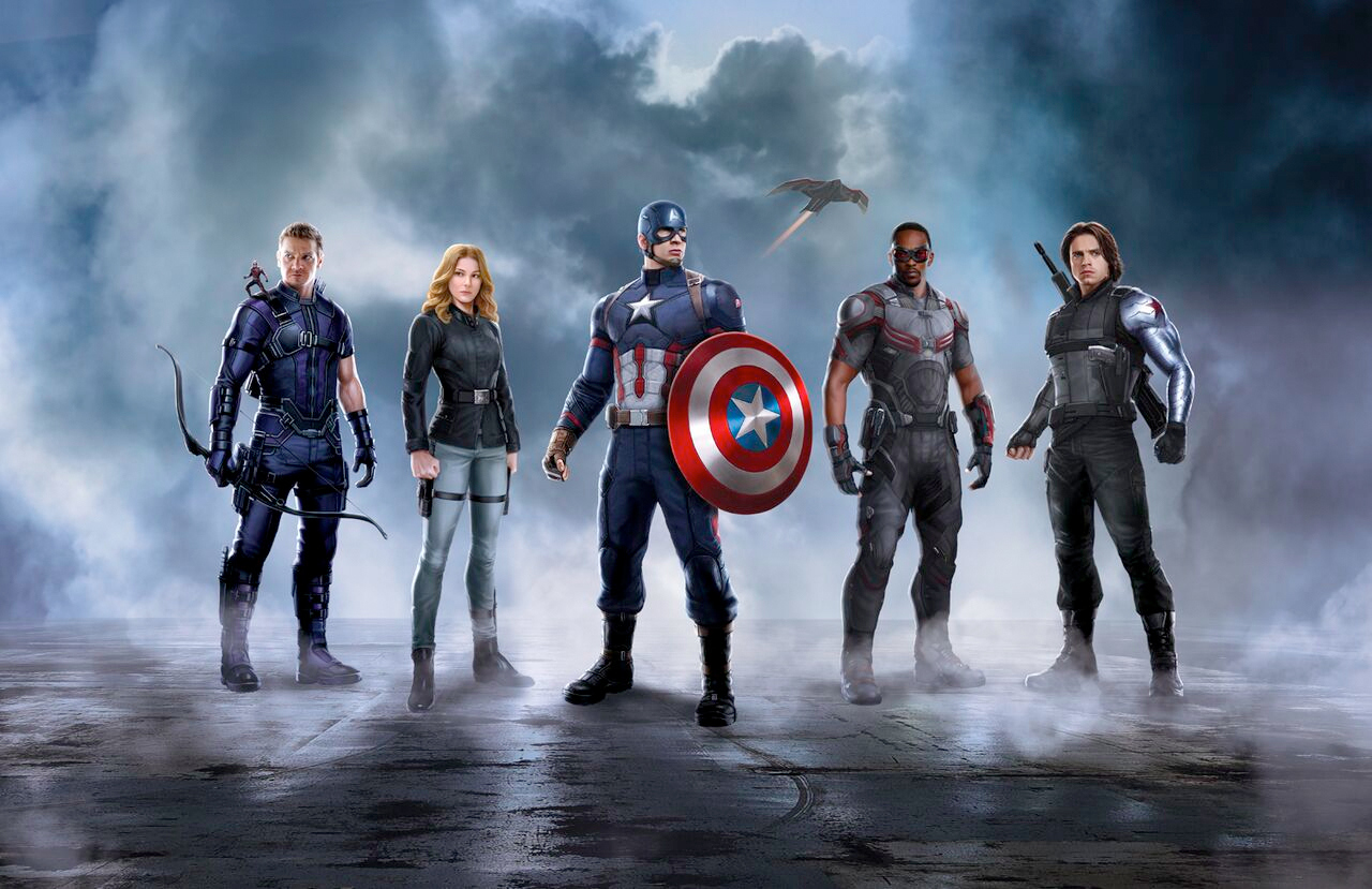 Captain America 3 team