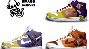 Nike'd Up: PlayStation Character Nike Sneakers