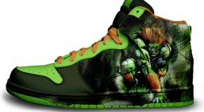 Nike'd Up: Street Fighter Blanka Nike Sneakers